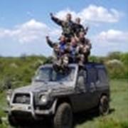 Экстримальные туры на джипах в крымских горах. Командные тренинги фото