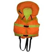 Спасательный жилет надувной с воротником фото