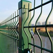 Забор 3Д, ограждения 3D производство Россия,  фото