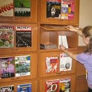 Шкаф журнальный фото