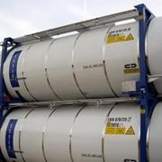 Аренда танк-контейнеров для перевозки химических продуктов фото