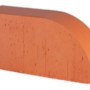 Кирпич радиусный Lode Janka F17 гладкий, 250*120*65 мм фото