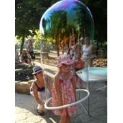 Шоу пузырей для детей фото