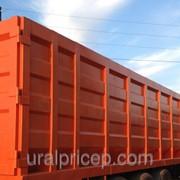 Кузов металловоз приварной для перевозки лома объем 80 м3 фото