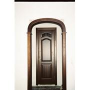 Арки, проёмы, двери из массива дерева фото
