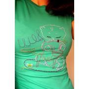 Вышивка на футболках в Алматы