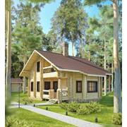 Проект деревянного дома, артикул 18 фото