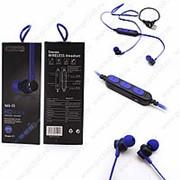 Беспроводные наушники Wireless MS-T1 Blue (Синий) фото