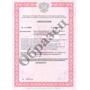 Лицензия МЧС России фото