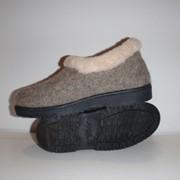 Бабуши, ботинки суконные фото