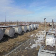 Резервуар горизонтальный стальной РГС-50м3 фото