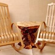Мебель из дерева фото