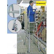 Лестницы-стремянки алюминиевые профессиональные Krause STABILO с 8 ступенями, передвижная 124654 фото