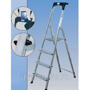 Лестницы-стремянки алюминиевые полупрофессиональные Krause Safety 3 арт.120212 фото