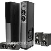 Комплект акустических систем Jamo S 606 HCS 3 black ash