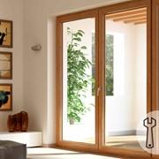 Регулировка балконной двери фото