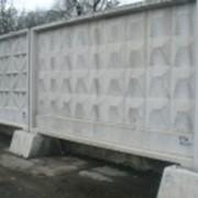 Плиты забора и фундаменты к ним сер.3.017-1 фото