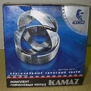 Кольца поршневые Камаз фото