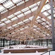 Установка деревянных конструкций фото