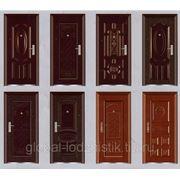 Доставка металлических дверей фото