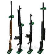 Комлект из пластикового ложемента и держателя для 1 ружья