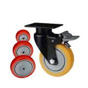Колесо поворотное с площадкой Lema EH2-TPU-125-140-B7 фото