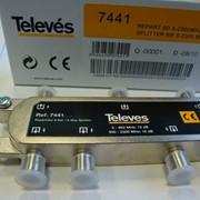 ТВ-делитель на 6 выходов (5-2400 МГц), Испания фото