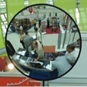 Обзорное зеркало круглое на стену d-90см фото