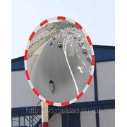 Зеркало сферическое уличное, 630мм фото