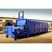 Стационарный пресс-контейнер для отходов VSP 380 LR фото