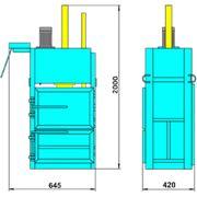 Пресс гидравлический пакетировочный ПГП-2-1МИНИ фото