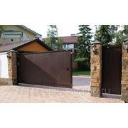Сдвижные ворота Doorhan фото