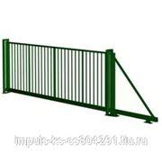 Откатные ворота PROM BARS для панельных систем ограждения фото