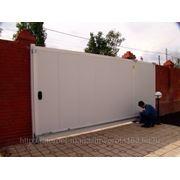 Сдвижные ворота Ш4000 В2100 фото
