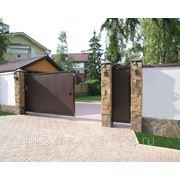Ворота сдвижные фото