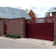 Сдвижные ворота Ш5000 В2400 фото