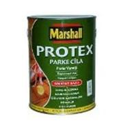 Лак паркетный глянцевый 0,75л Protex Маршал фото
