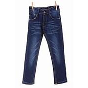 75decd50309 Нарядные джинсы синего цвета на флисе прямые 30 фото