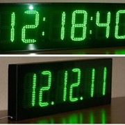 Для улицы. Часы-календарь-термометр. фото