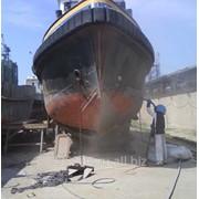 Антикоррозийная обработка кораблей фото