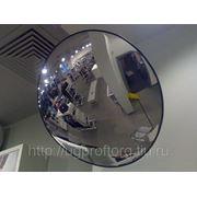Зеркало обзорное антикражное 430 мм фото