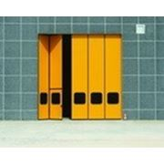 Складные ворота фото
