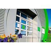 Панорамные ворота для станций технического обслуживания фото