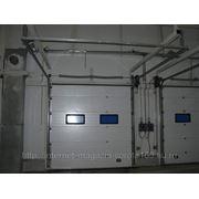 Секционные промышленные ворота ISD01 фото