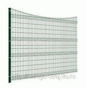 Забор металлический панельного типа фото