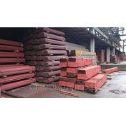 Столб стальной 50х50 мм. (стенка 2 мм) высота - 3,0 м. с планками и заглушками с грунтовым покрытием фото