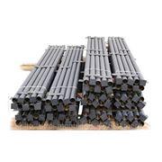 Столб стальной заборный фото