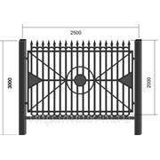 Забор сварной СЗ-18 фото