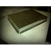Колпак плоский на столб 400*500 оцинкованный фото