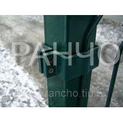 Столб для ограждения «РАНЧО» высота — 2,5м, сечение — 60х60х2мм фото